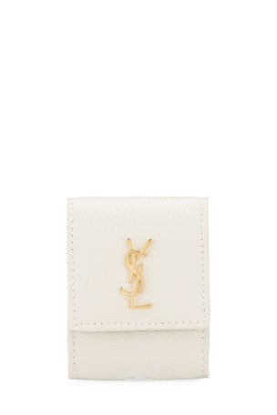 Saint Laurent YSL Monogram Airpods Holder