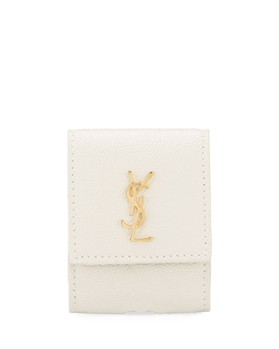 YSL Monogram Airpods Holder