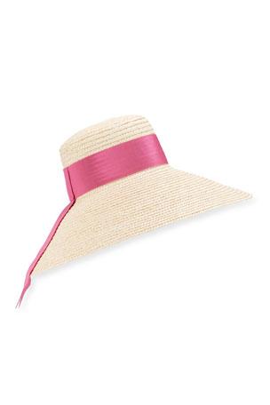 Eugenia Kim Mirabel Large Brim Straw Hat