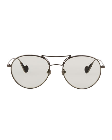 Moncler Round Metal Optical Frames