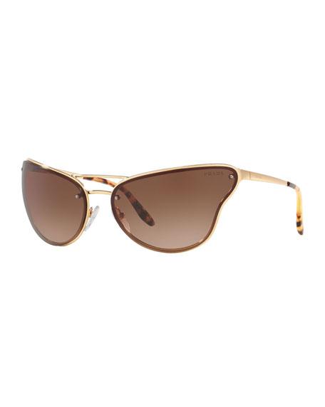 Prada Sunglasses Metal Butterfly Sunglasses