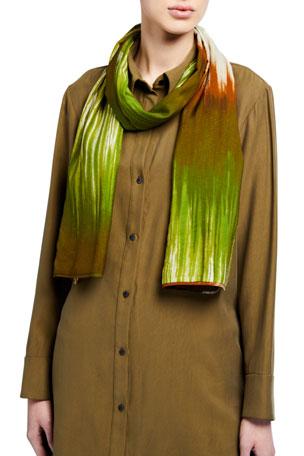 Natori Painted Tie Dye Scarf