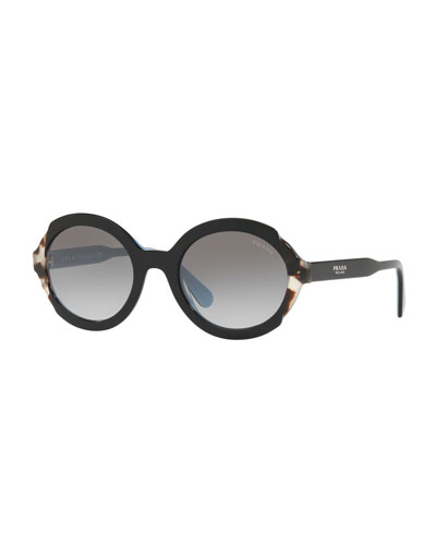 Oval Gradient Sunglasses