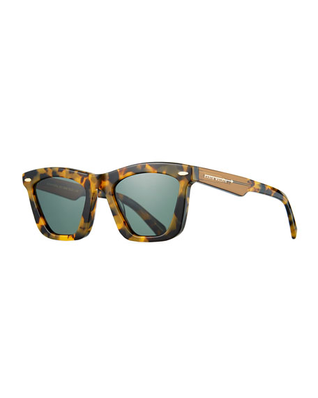 Image 1 of 3: Alexandria Cat-Eye Acetate Sunglasses