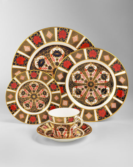 Royal Crown Derby Old Imari Saucer