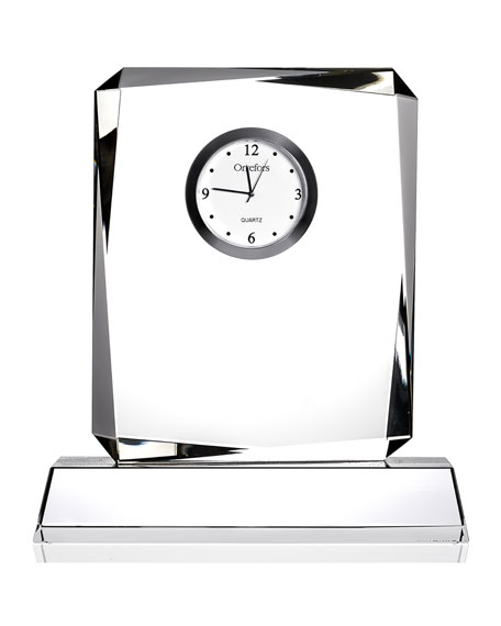 Orrefors Vision Table Clock