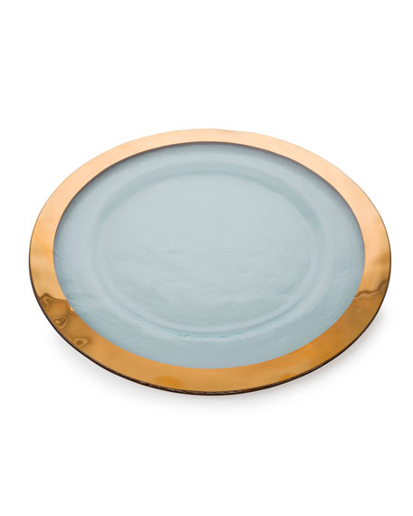 Roman Antique Gold Service Plate