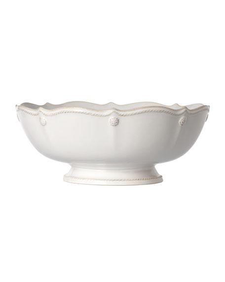 Juliska Berry & Thread Whitewash Footed Fruit Bowl