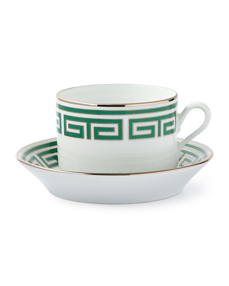 Richard Ginori 1735 Labirinto Green Teacup