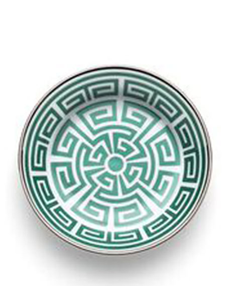Richard Ginori 1735 Labirinto Green Saucer