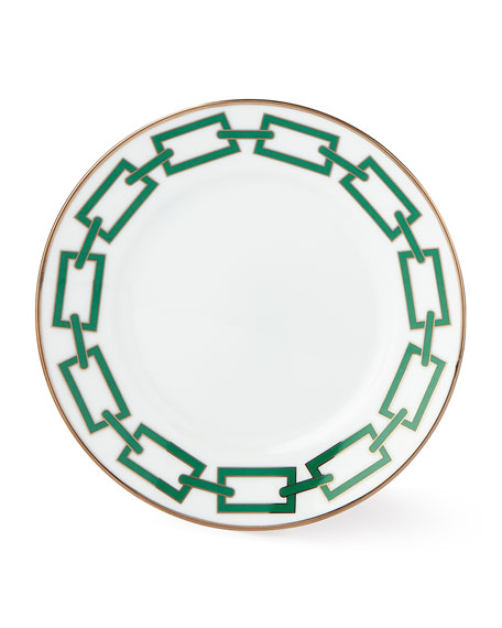 Cantene Green Bread & Butter Plate