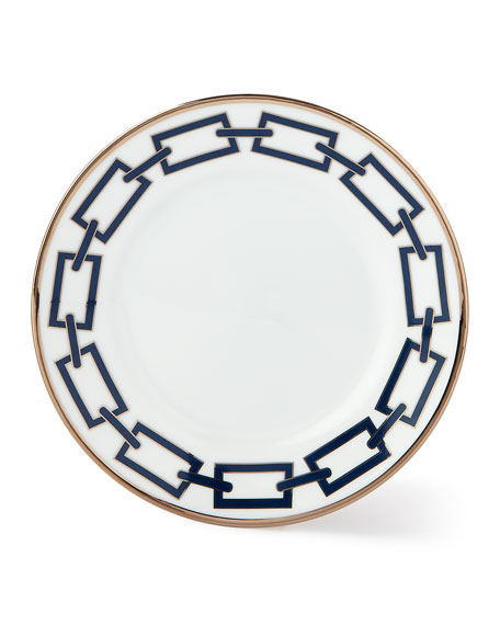 Catene Blue Bread & Butter Plate