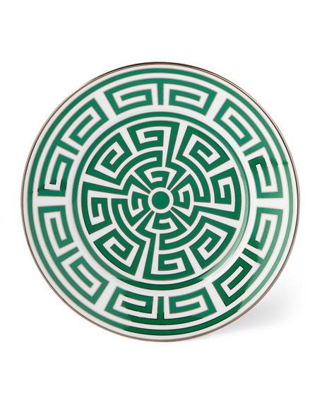 Richard Ginori 1735 Labirinto Green Salad/Dessert Plate