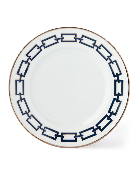 Richard Ginori 1735 Catene Blue Salad/Dessert Plate