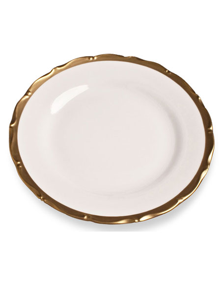 Golden Patina Dinner Plate