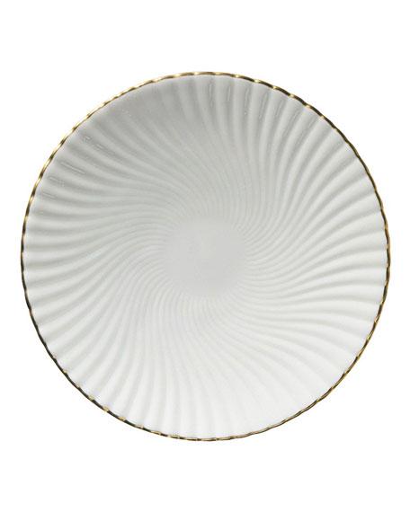 Atlantide Gold Bread & Butter Plate
