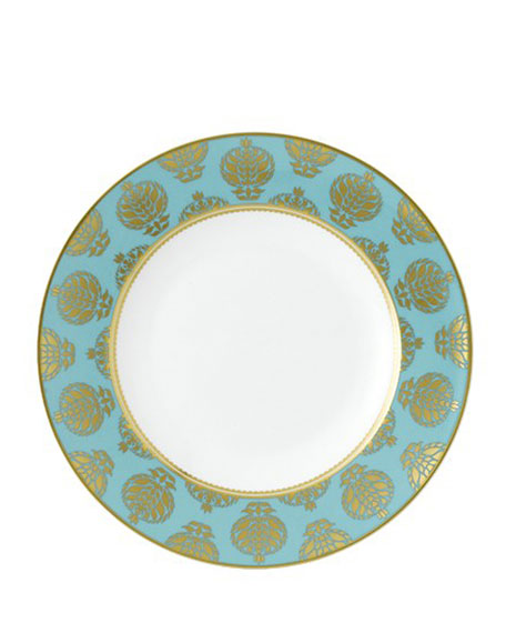 Royal Crown Derby Bristol Turquoise Dinner Plate