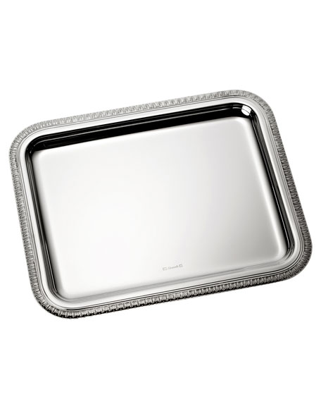 Christofle Malmaison Medium Rectangular Tray
