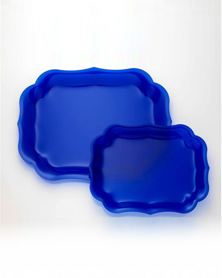 Gioconda Tray, Royal Blue