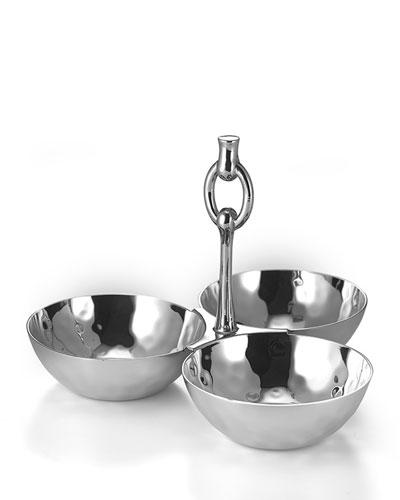 Omega 3-Bowl Snack Set