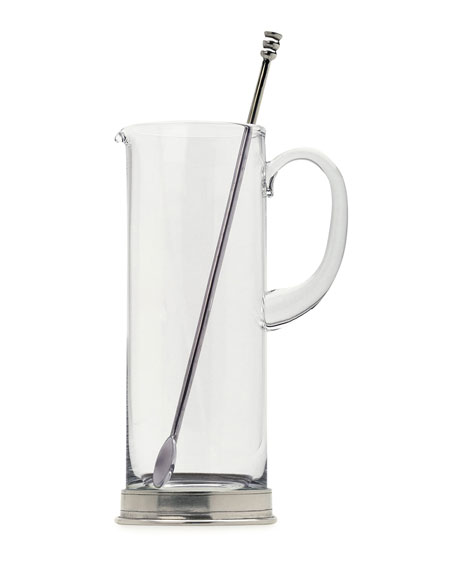 Martini Pitcher with Stirrer