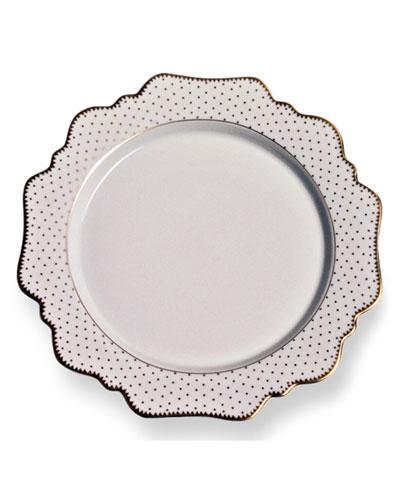 Simply Anna Antique Polka Dinner Plate