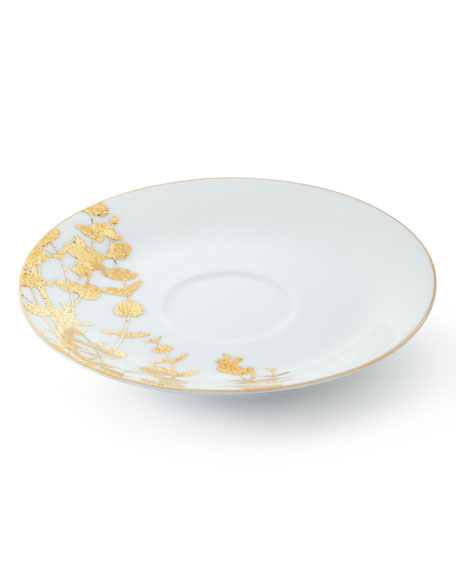 Bernardaud Vegetal Gold Tea Saucer