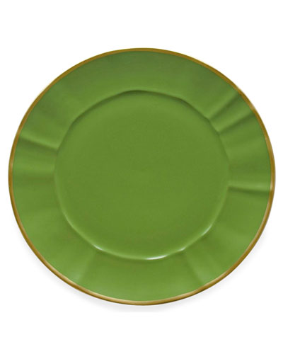 Green Charger Plate