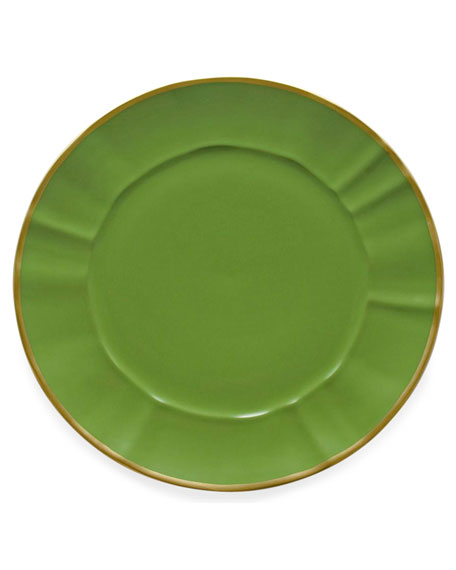Anna Weatherley Anna Weatherly Green Charger Plate