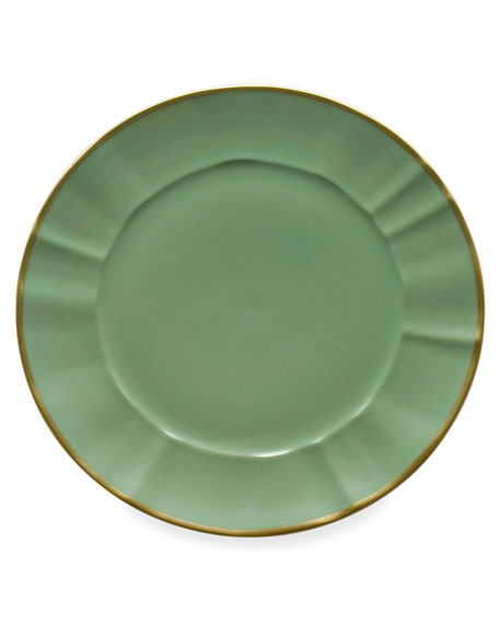 Anna Weatherley Mint Green Charger Plate