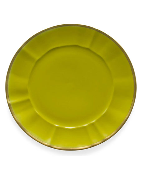 Anna Weatherley Celery Charger Plate