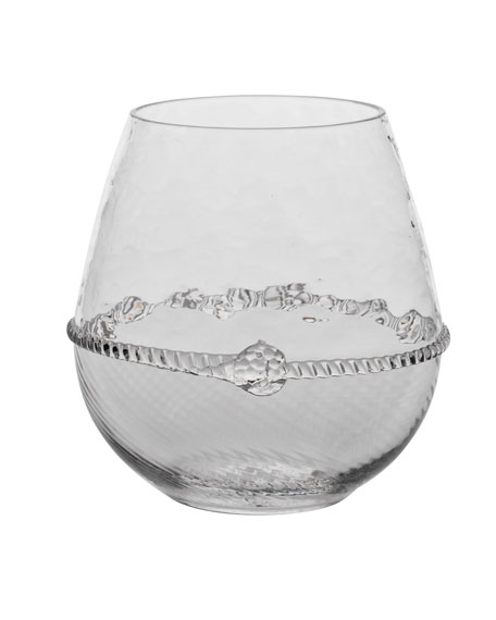 Graham Stemless Red Wine Glass