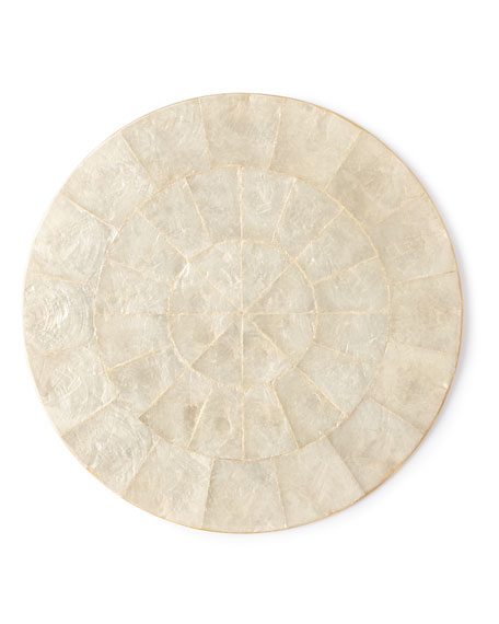 Natural Capiz Placemat