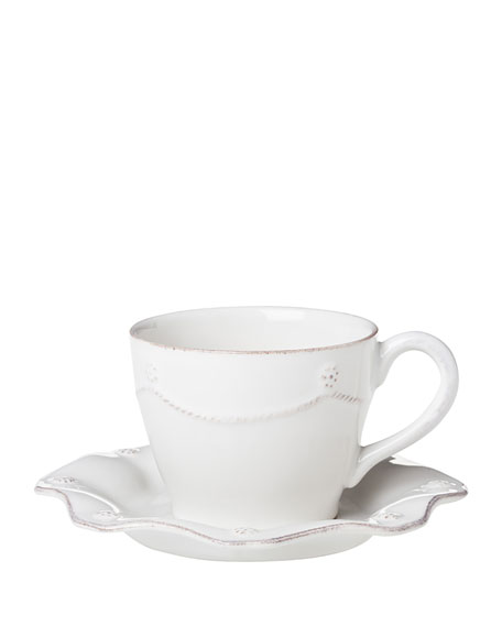 Juliska Berry & Thread White Tea/Coffee Cup