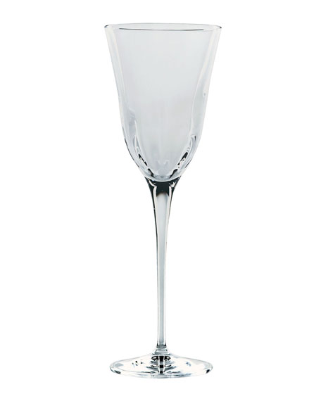 Optical Smoke Gray Wine Glass