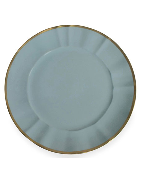 Anna Weatherley Anna Weatherly Powder Blue Charger Plate