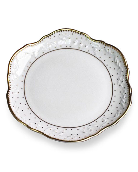 """Simply Anna Polka""  Bread & Butter Plate"