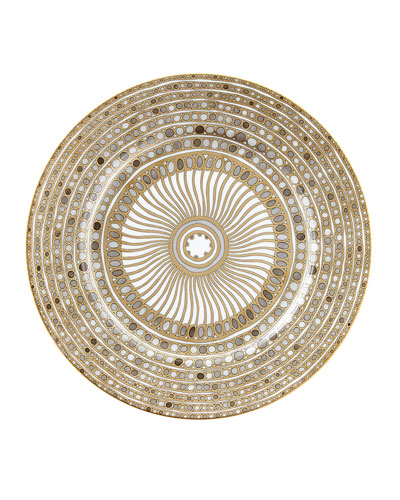 Syracuse Taupe Charger Plate
