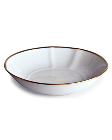 """Simply Elegant"" Rim Soup Bowl"