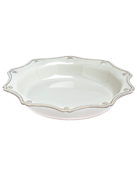 Juliska Berry & Thread White Pie/Quiche Dish