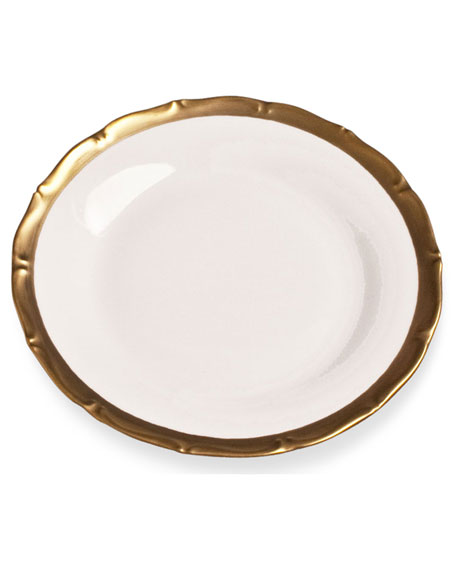 Golden Patina Bread & Butter Plate