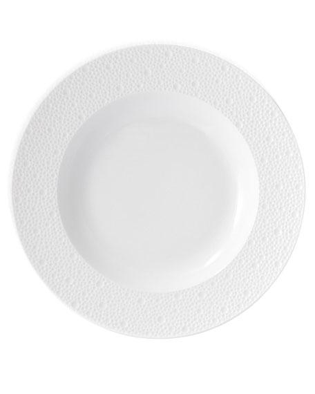 Ecume White Rim Soup Bowl