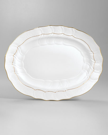 Golden Edge Platter, Large