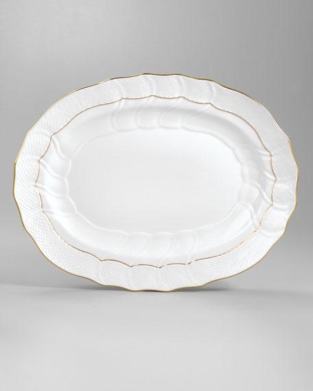 """Golden Edge Platter, 15"""""""