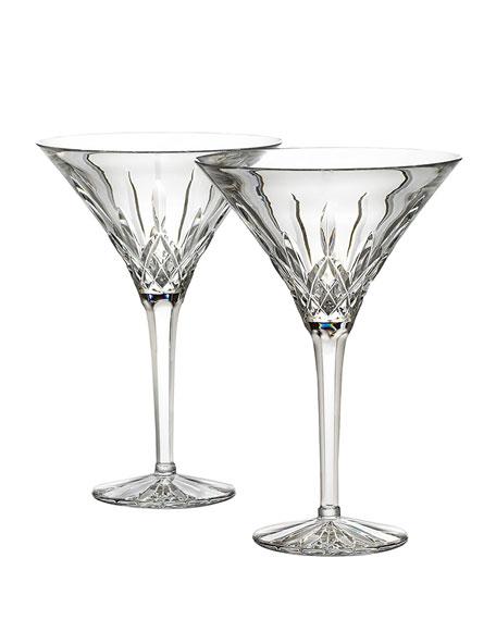 Lismore Martinis, Set of Two
