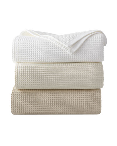 Waffleweave Blanket, King, 100