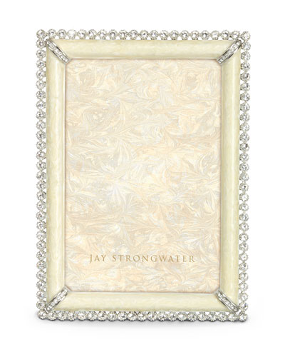 "Jay Strongwater ""Lorraine"" Stone-Edged Frame"