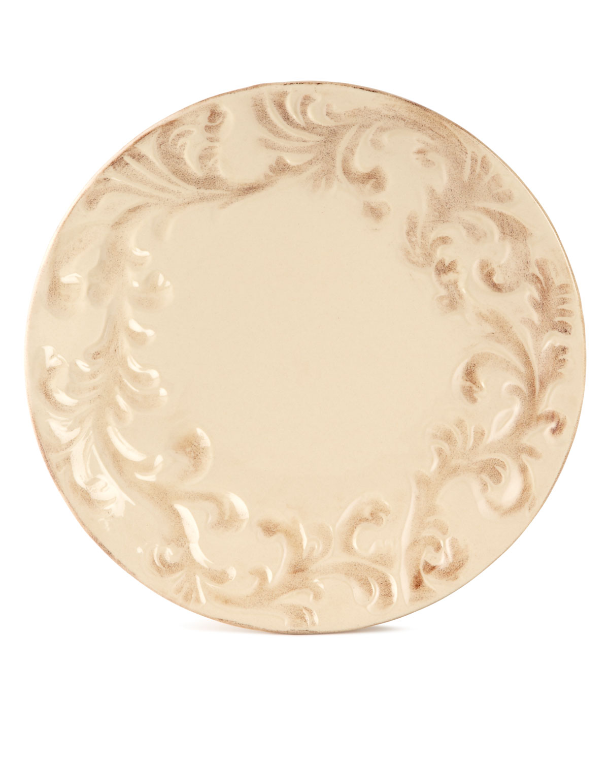 G G Collection Dinner Plates, Set of 4