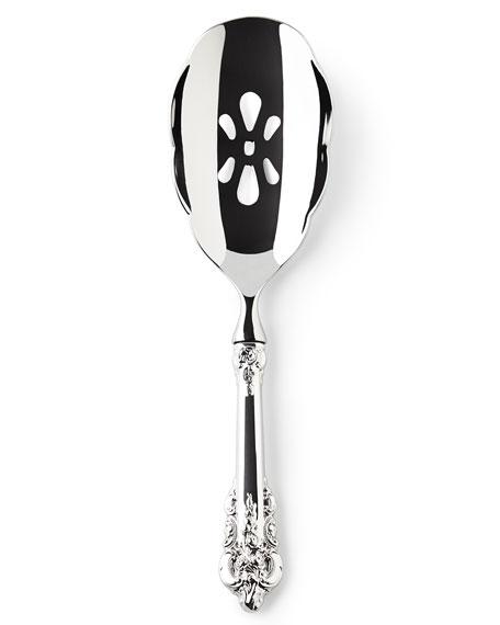 Wallace Silversmiths Grande Baroque Pierced Spoon