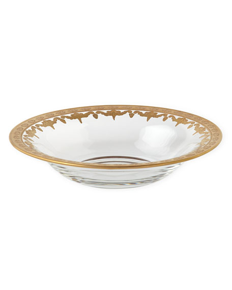 Vetro Gold Soup Bowl